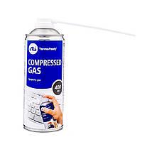 Чистячий стиснене повітря COMPRESSED GAS, 400мл