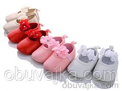 Детские туфельки-пинетки  для девочек оптом от Леопард(11-13)