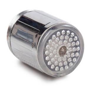LED насадка на кран 3 кольори (44301)