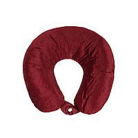 Дорожная подушка для путешествий, Бордо, Подушки, Подушки, Дорожня подушка для подорожей, Бордо