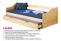Кровать детская двухспальная LAURA