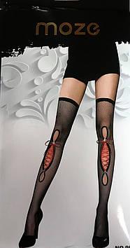 Женские эротические чулки с шнуровкой