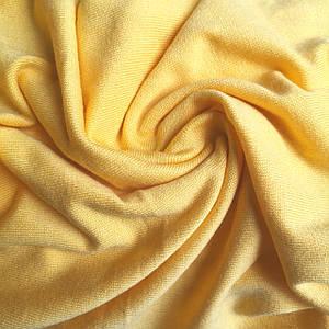 Трикотаж ангора желтый