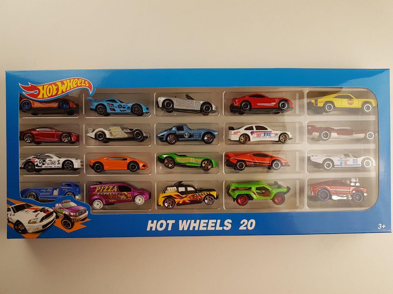 Набір машинок Hot Wheels 1605-3 (20 штук) Хотвилс