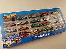 Набір машинок Hot Wheels 1605-3 (20 штук) Хотвилс, фото 3