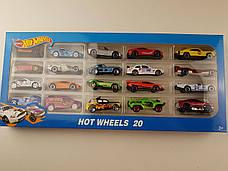 Набір машинок Hot Wheels 1605-3 (20 штук) Хотвилс, фото 2
