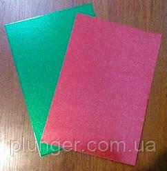 Підкладка прямокутна під торт 20*30 см червоно-зелена
