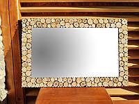 Зеркало настенное большое деревянное 50 * 75см Производим ЛЮБЫЕ РАЗМЕРЫ под заказ