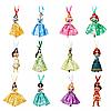 Шикарный набор ёлочных игрушек от  Disney Store, 12 принцесс Дисней 2019