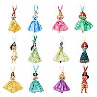 Шикарный набор ёлочных игрушек от  Disney Store, 12 принцесс Дисней 2019, фото 1