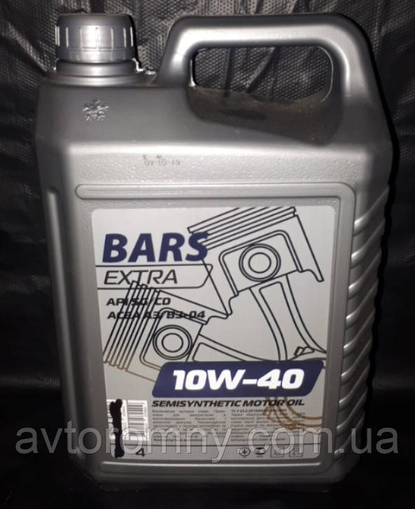 Масло моторное Барс Bars Extra 10W-40 4L