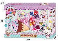 Косметика J-524 раскл. мороженое , набор для девочки
