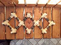 Вішалка-трансформер  дерев'яна до 80х20 см