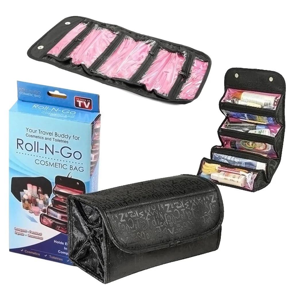 Органайзер для косметики Roll-N-Go, женская дорожная косметичка RS-25