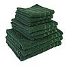 """Полотенце (70х140 см) махровое """"TerryLux Plus"""" зеленое"""