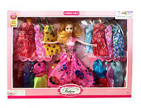 Кукла с набором платьев 43*5,5*32,5 см. (48 шт/ящ) 1771167_M12A