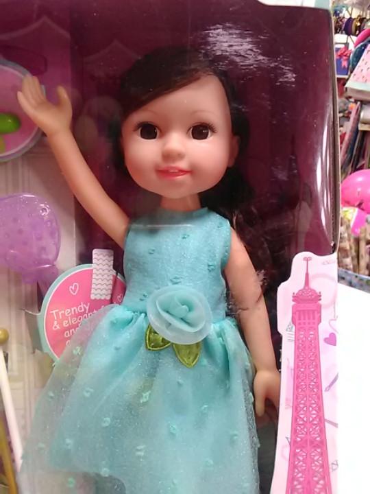 Кукла с аксессуарами зеркало ращеска  резинки