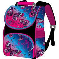 Детский рюкзак Бабочки для девочки в школу Smile ортопедический Butterfly
