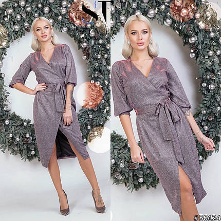 Невероятное платье с люрексом, фото 2