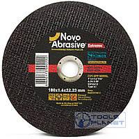 Круг отрезной по металлу NovoAbrasive Extreme 180 х 1,6 х 22,2, фото 1