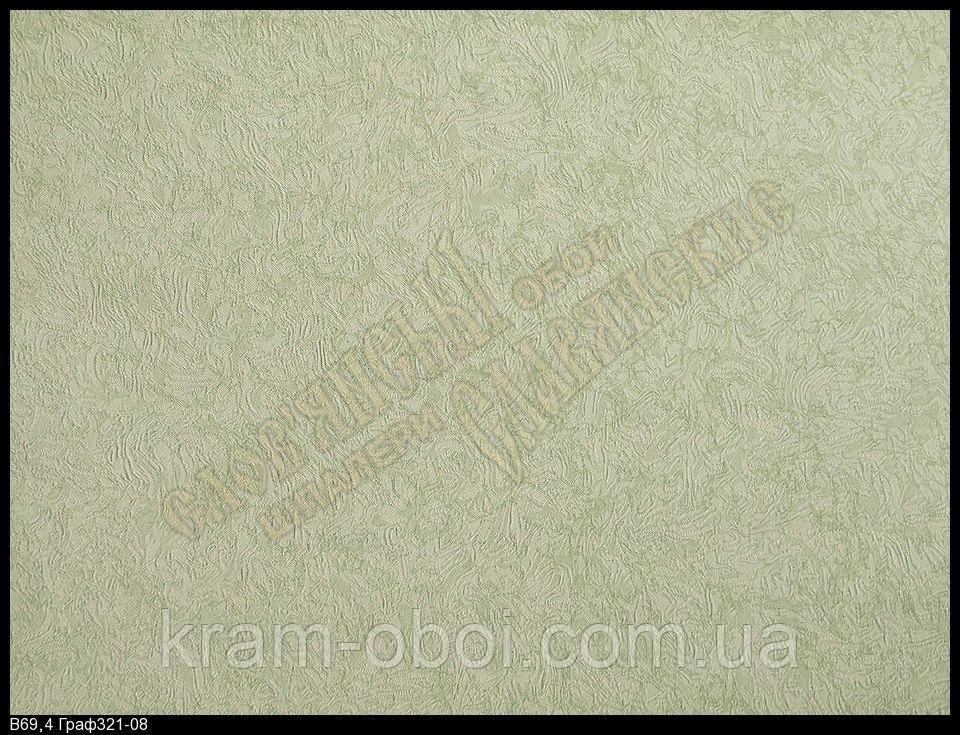 Обои Славянские Обои КФТБ бумажные дуплекс 10 м*0,53 9В69 Граф 321-08