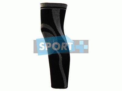 Эластичный суппорт ноги (лодыжка-бедро). 211 (Чёрно-серый)