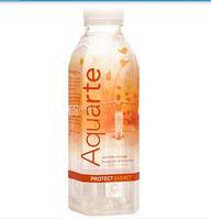 """Вода мінеральна """"Aquarte Protect"""" негазована з екстрактом ацероли та смаком апельсину 0,5л"""