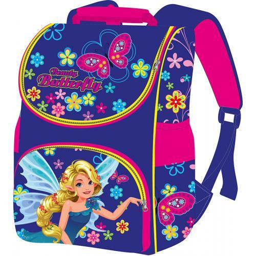 Рюкзак-коробка ортопедический Smile Фея каркасный ранец для девочки