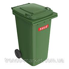 Контейнер для мусора на колесах SULO EN-840-1/240Л., фото 3