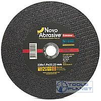 Круг отрезной по металлу NovoAbrasive Extreme 230 х 1,9 х 22,2, фото 1