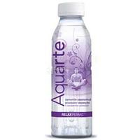 Вода мінеральна негазована з екстрактом ромашки та смаком маракуйї 0,5л Aquarte Relax