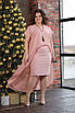 Платье с накидкой, креп-шифон  50,52,54,56,58, фото 2