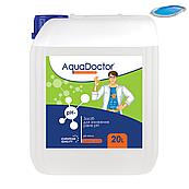 PH минус жидкий AquaDoctor 20 литров . Жидкое средство для снижения pH pH Minus (на основе серной 35% кислоты)