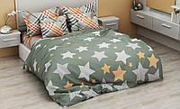Комплект постельного белья семейный Звезды, хлопок, TM Krispol (430.154160)