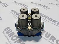AE4168 Кран клапан защитный четырехконтурный 9347020400 1505397 IVECO  AE4409 AE4428 9347020530, фото 1