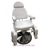 АКЦИЯ!!! до 27.12 !!!Кресло-кушетка для педикюра CH-227B белая