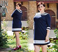 Платье женское большие размеры (цвета) /бат703, фото 1