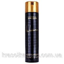 Лак для волосся сильної фіксації 500мл L'oreal Professionnel Infinium Fort Hairspray