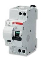 Дифференциальный автомат двухполюсный DS951AC-С16А/0,03А, (30мА)  АВВ