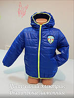 Демисезонная куртка для мальчика № 5501
