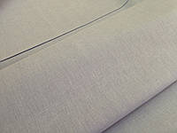 Светло серая льняная ткань с голубым оттенком  цвета 150ш.165пл.