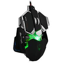 Мышь компьютерная игровая  игровая Lvom G10 проводная цвет черный
