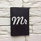 Обложка для паспорта Mr (черный), фото 2