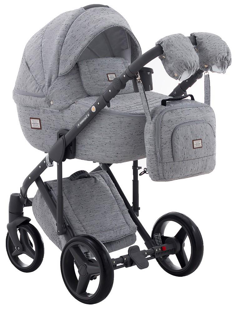 Детская универсальная коляска 2 в 1 Adamex Luciano Y3-A