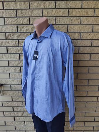 Рубашка мужская коттоновая брендовая высокого качества BENRICH, Турция, фото 2