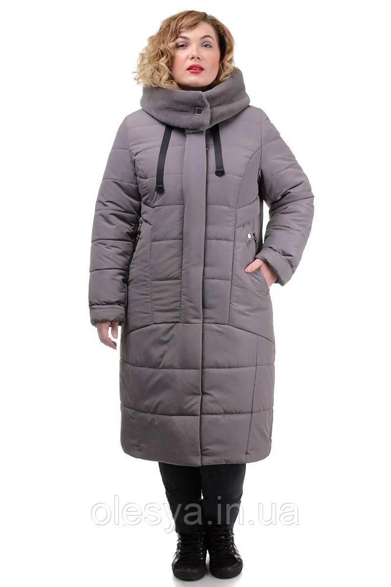 Женское зимнее пальто большие размеры Глория  Размеры 50- 58 Супер качество Топ продаж!