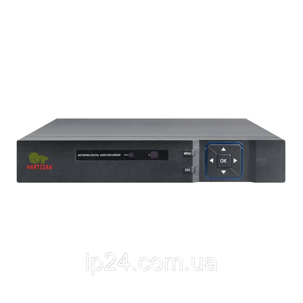 8.0MP (4K) видеорегистратор для 8 камер NVH-852 POE