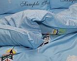 Постільна білизна сатин люкс з компаньйоном S363, фото 2