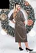 Шикарное новогоднее нарядное платье размеры: 42-62, фото 3