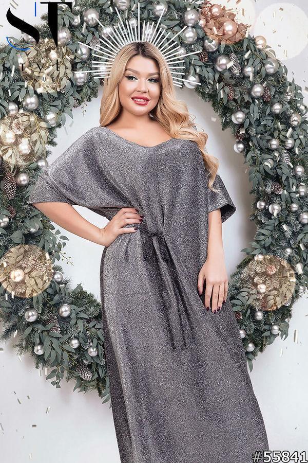 Шикарное новогоднее нарядное платье размеры: 42-62
